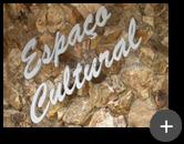 Letreiro sofisticado com letras de aço - Espaço Cultural