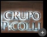 Letreiro com leds para empresa de Telecomunicação - Grupo Picolli