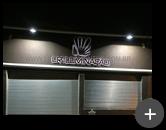 Letreiro iluminado com leds para empresa LR iluminação