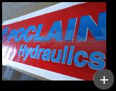Fábrica de letreiro de acrílico alto relevo 3d