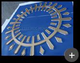 Logo de acrílico com pintura ou impressão inversa