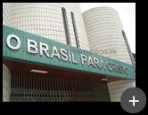 Letreiro de aço inox produzido e instalado para a igreja Evangélica Pentecostal - O Brasil para Cristo