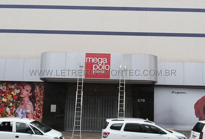 Letreiro para loja de roupas do Brás - São Paulo