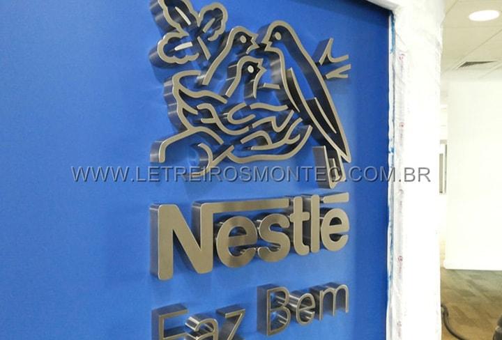 Letreiro  Nestlé