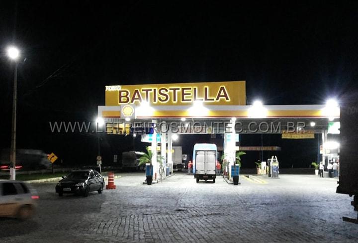 Letreiro para posto de gasolina