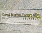 Letreiro para escritório de advocacia em acrílico