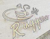 Letreiro da lanchonete e cafeteria em aço galvanizado